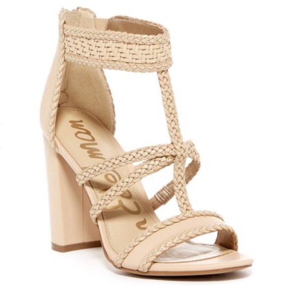 866b9a13e045e3 Sam Edelman Yordana T-strap sandal NWOT. M 5b1ad47745c8b3e6599f7911